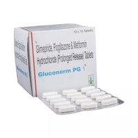 Glimepiride, Pioglitazone And Metformin HCL Tablets