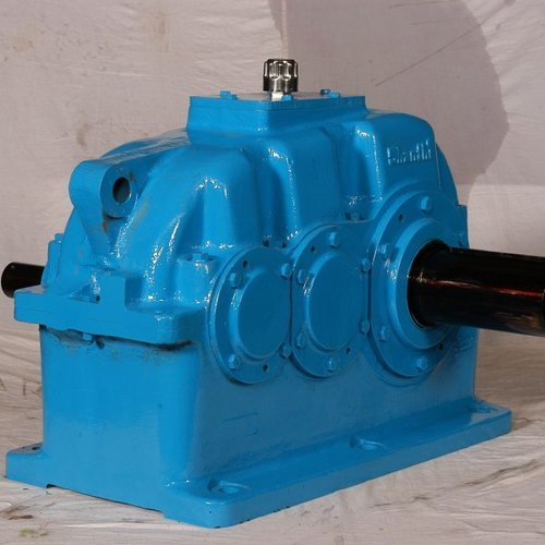 Double Stage Bevel Helical Gearbox
