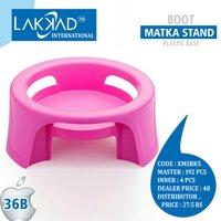 Multipurpose Plastic Matka Stand