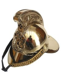 New South Wales Brass Fireman Armor Helmet