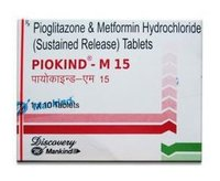 Pioglitazone And Metformin Tablets