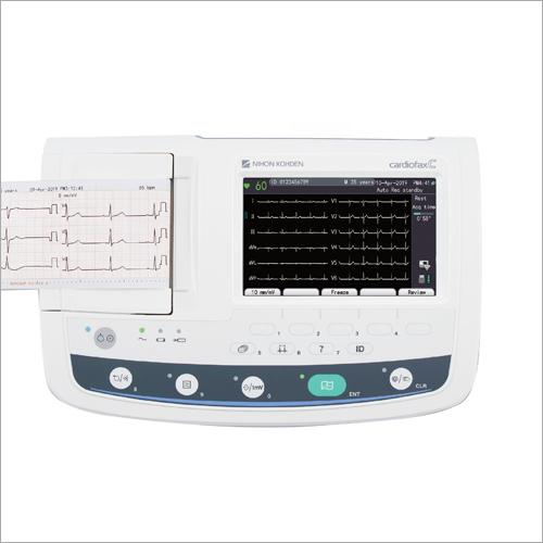 ECG Electrocardiograph Machine