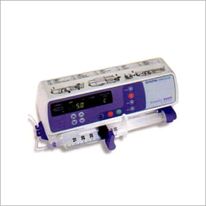Graseby 2000 And 2100 Syringe Infusion Pump