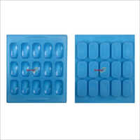 Silicone Rubber Soap Mold 30 gm Rectangular 15 Cavities