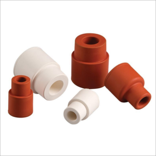 Silicone Rubber Turn Over Flange Septa