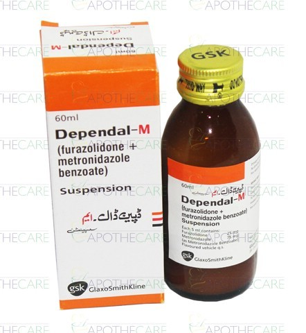 Metronidazole And Furazolidone Syrup