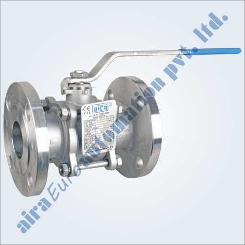 3 Piece Design Ball Valve Flanged 150 - 300 Class