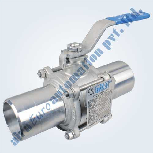 3 Piece Design Butt Weld Ball Valve