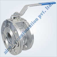 2 Way Wafer Type Ball Valve