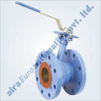 2 Piece Flush Bottom Reduce Bore Floating Ball Valve