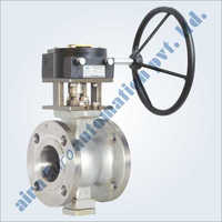V - Knotch (V Port) Floating Ball Valve