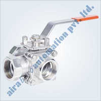 C Way 3 Way Floating Ball Valve Screwed & Flanged