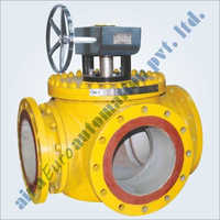 3 Way 4 Way Trunnion Ball Valve