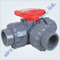 Upvc 3 Way Ball Valves