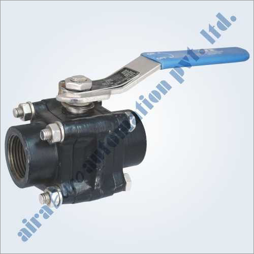 3 Piece Design Forged 800 Class Ball Valve