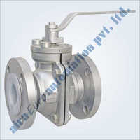 Fep - Pfa Lined Floating Flanged Ball Valve
