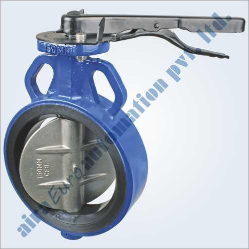 Rubber Lined Wafer Type Butterfly Valve