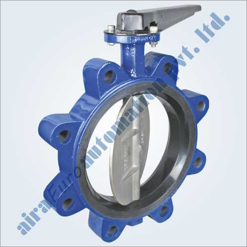 Concentric Disc Wafer Type Rubber Lined Butterfly Valve Lug Type
