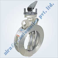 Double Eccentric Off Set Disc Wafer Type Butterfly Valve