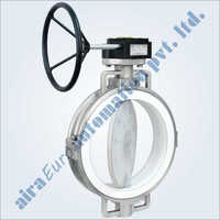 Fep Pfa Lined Butterfly Valve