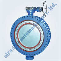 Awwa C-504 & Awwa C-516 Large Diameter Double Flange Butterfly Valve