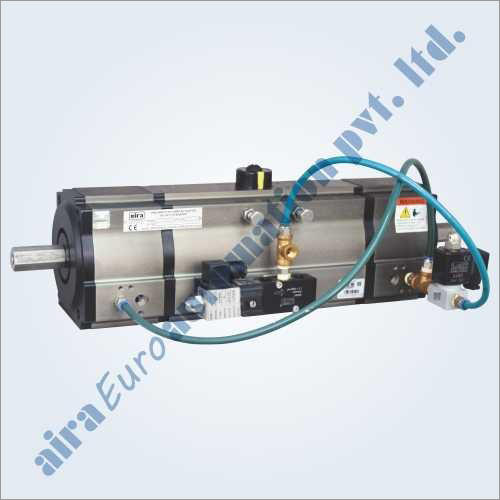 3 Position Pneumatic Rotary Actuator Double & Single Acting
