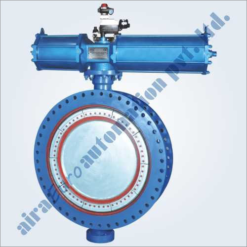 Pneumatic Fabricated Butterfly Valve