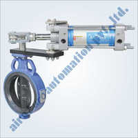 Cylinder Operated Butterfly Valve