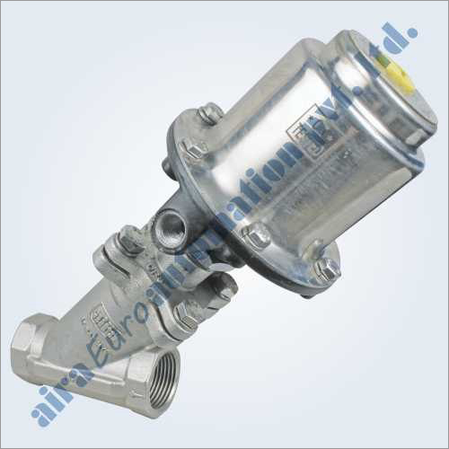 2-2 Way Angle Type On-Off Control Valve Bolted Design