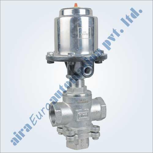 3-2 Way Straight Type Mixing & Diverting Medium Pressure Control Valve
