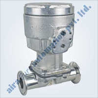 Pneumatic Cylinder Stainless Steel Single Acting Pharma Diaphragm Valve