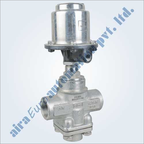 3-2 Way Straight Type Mixing & Diverting High Pressure Control Valve