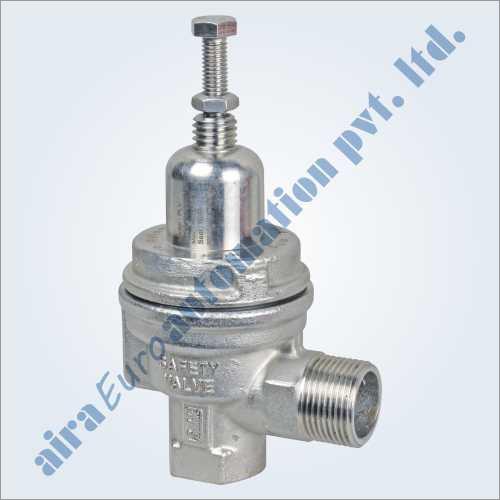 Silent Pressure Relief Valves (Safety Valve) Screwed