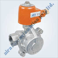 2-2 Way Piston Type High Pressure Solenoid Valve