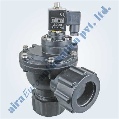 2-2 Way Angle Type Union Type Dust Collector Solenoid Valve (Pulse Valve)