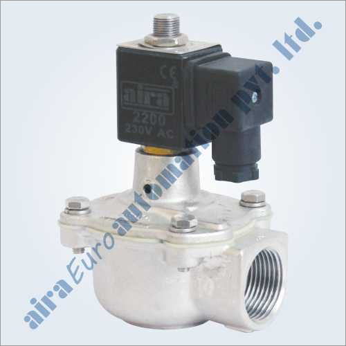 2-2 Way Angle Type Dust Collector Stainless Steel Pulse Valve