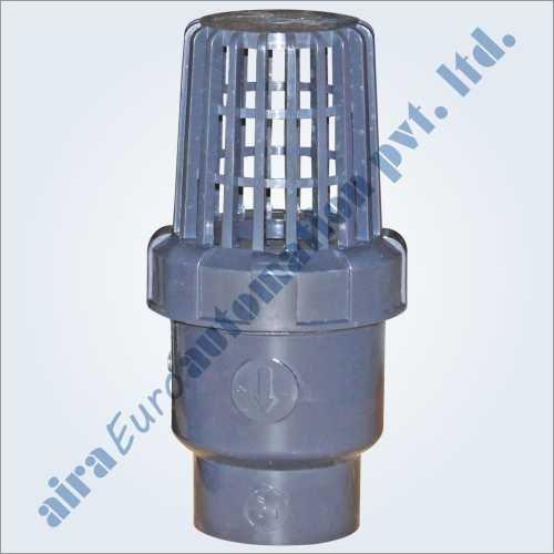 Upvc Ball Foot Valves Application: Water Treatment