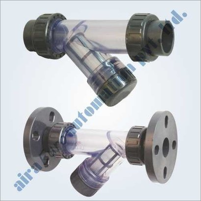 Upvc Strainer Socket Weld - Flanged Application: Chemical Industrial / Water Treatment / Water Supply