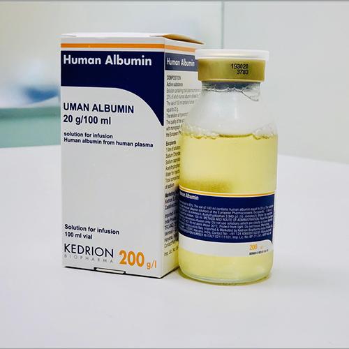 100ml Uman Albumin 20%