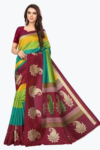 Multy Color Printed Saree