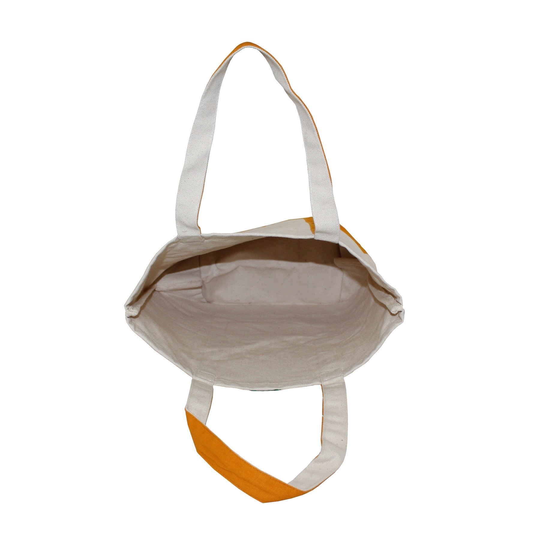 20 Oz Natural Canvas Boat Bag With Handle