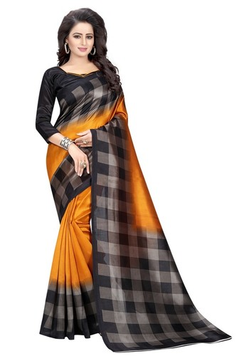 Presennt New Mysore Silk Saree
