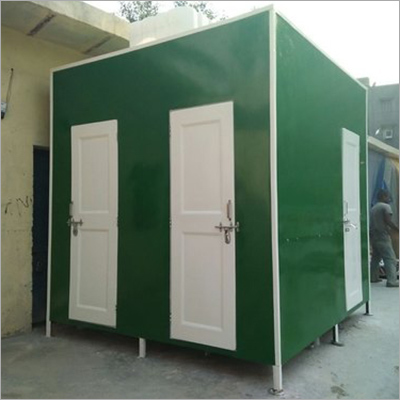 Quad Mobile Toilet Cabin