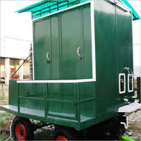 Mobile Bio Toilet Van with Solar Panel