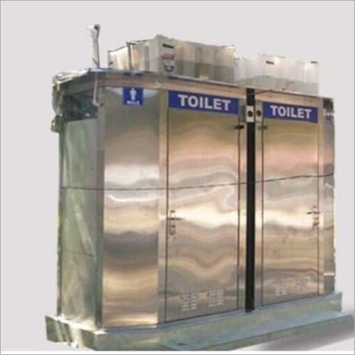 Stainless Steel Portable Toilet Cabin