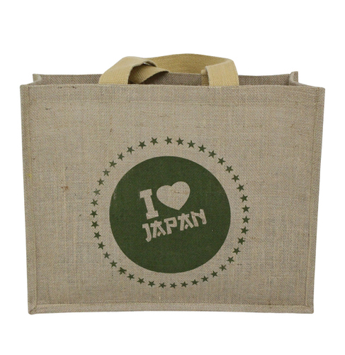 Pp Laminated Jute Tote Bag With Web Handle