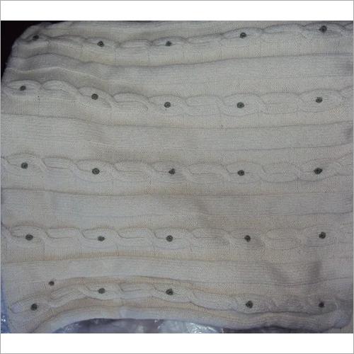 Woolen Yarn Cushion Cover
