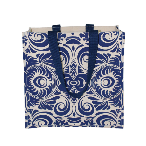 10 Oz Pp Laminated Tote Bag With Cotton Web Handle