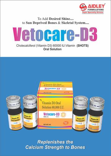 Cholecalciferol  (Vitamin-D3) 60000 IU. (SHOTS)