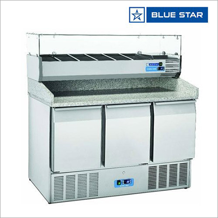 SC2100B Blue Star Stainless Steel Refrigerated Saladette